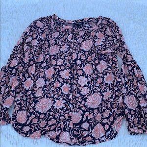 Long sleeved Lucky brand blouse